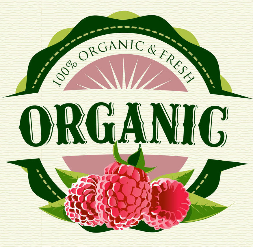 Organic Products Marketing Requires Quality Label Images